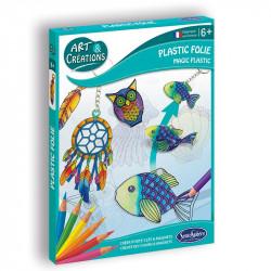 Plastic Folie-Portes-clés &...