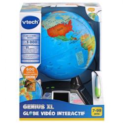 Globe vidéo interactif...