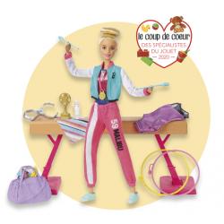 Coffret Barbie gymnastique