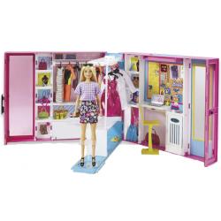 Le dressing de luxe de Barbie