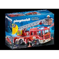 Camion de pompiers avec...